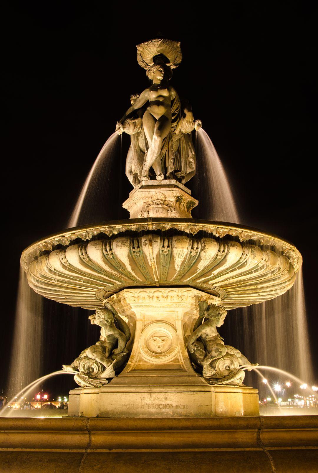 sublimez votre fontaine avec l'éclairage led submersible mc diffusion