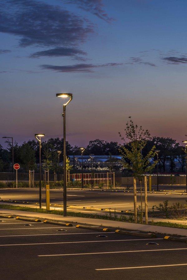 illuminez vos parking avec l'éclairage public mc diffusion