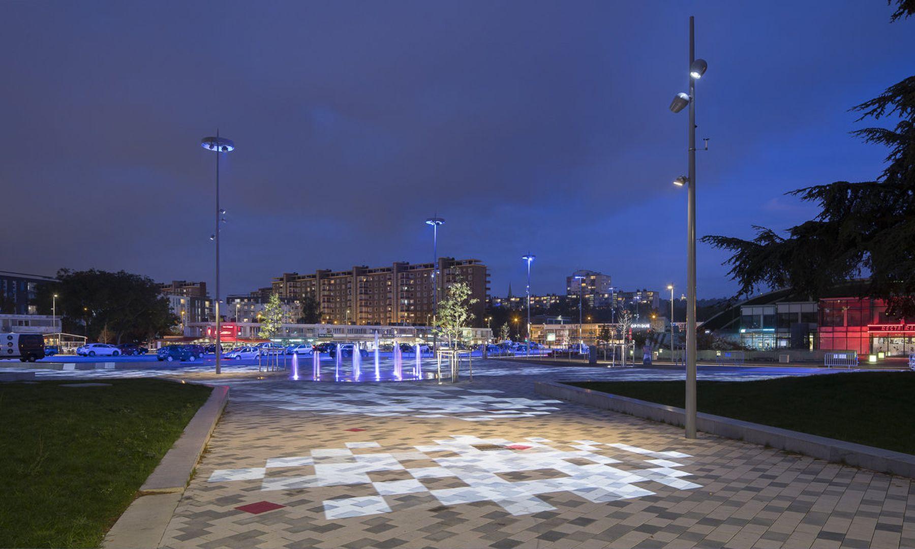 la ville de sotteville sublimée par l'éclairage public mc diffusion